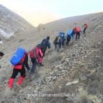 برگزاری دوره کارآموزی کوه پیمایی در اسفند ۹۴