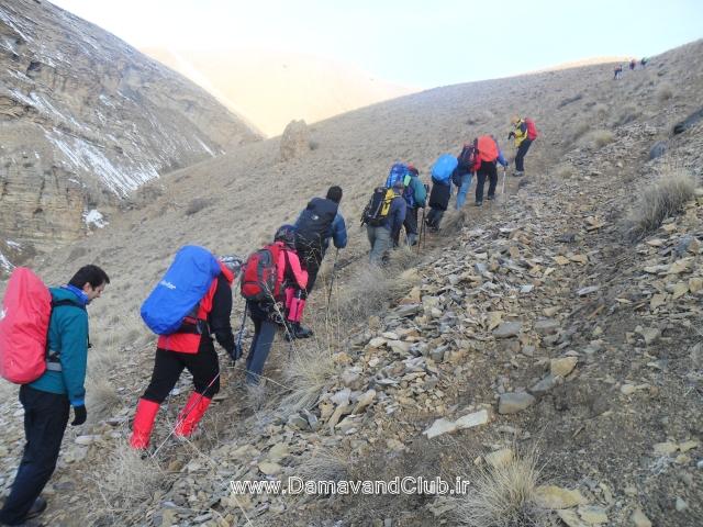 برنامه های آخر هفته تقویم کارگروه کوهپیمایی باشگاه کوهنوردی و اسکی دماوند