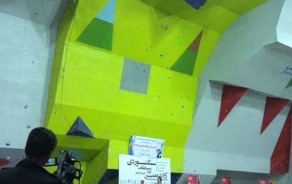 نفرات برتر پانزدهمین دوره مسابقات سنگنوردی جام فجر/«سرطناب» مردان