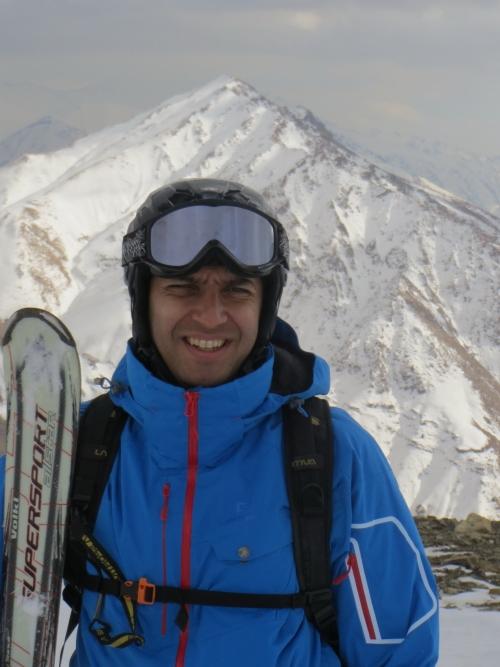 رضا گلباز حق – مسئول کار گروه اسکی باشگاه کوهنوردی و اسکی دماوند