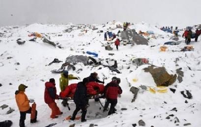 پیام باشگاه کوهنوردی و اسکی دماوند به مردم نپال