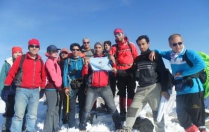گزارش صعود به قله نسام دار