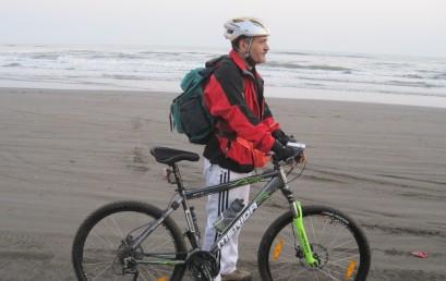 دوچرخه سواری در بلندی های کوهسار