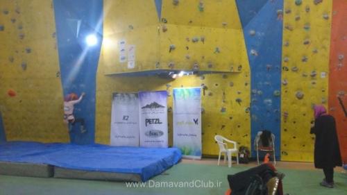 غرفه فروش باشگاه کوهنوردی و اسکی دماوند