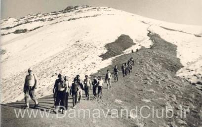 اطلاعیۀ کارگروه کوهپیمایی برای اعلام برنامۀ تقویم پاییز و زمستان