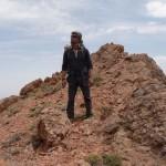 گزارش پیمایش انفرادی خط الرأس جوپار توسط احمد قنبری