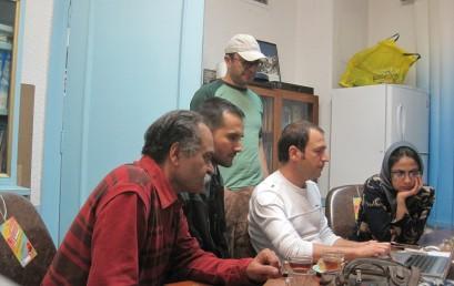 برگزاری کلاس آموزش نرم افزار تدوین فیلم movie maker  توسط شهرام عباس نژاد
