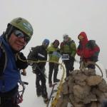 گزارشی کوتاه از نخستین صعود زمستانی قلۀ میل فرنگی