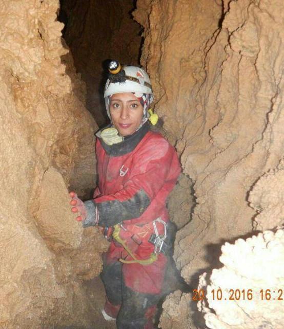 شادباش به هم نورد گرامی الناز تبریزی برای پذیرش در آزمون ورودی دوره مربی گری غارنوردی