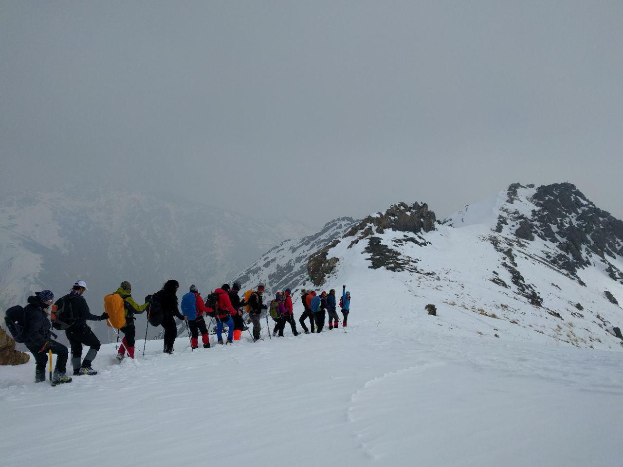 برنامه کارگروه کوهپیمایی باشگاه کوهنوردی و اسکی دماوند