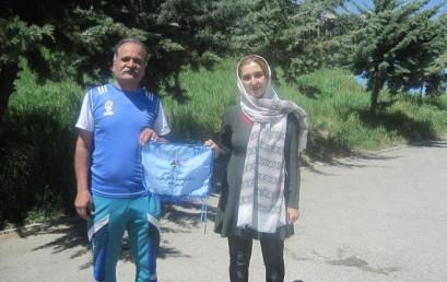 شادباش به مریم اکبری و سیامک شایان پور برای رسیدن به جایگاه مربی درجه یک دوچرخه سواری
