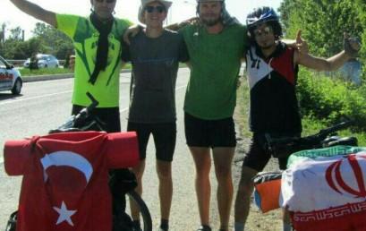 چهل و نهمین نشست دوچرخه سواری :همراه با مردم ترکیه  از ترابزون تا آنکارا