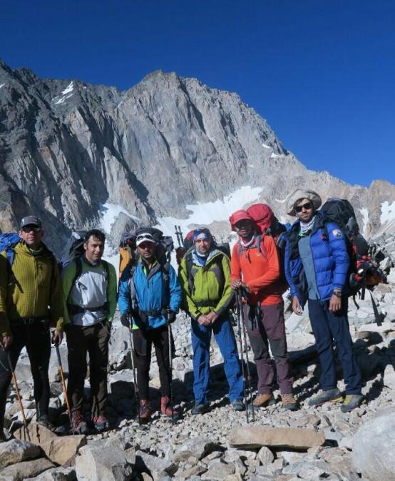 پیمایش قله علم کوه از راه گرده آلمان ها با سرپرستی سعید راعی انجام شد
