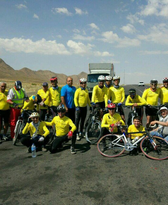 پنجاه و هشتمین نشست دوچرخه سواری : با کاروانی از گل و گلاب