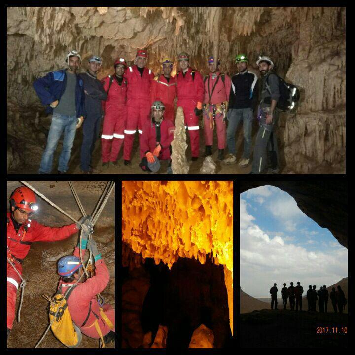 پیمایش غارقلعه کرد ۱۸و۱۹ آبان ۹۶