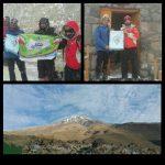 صعود قله دماوند ۱۸ و ۱۹ آبان ۹۶