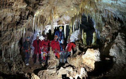 گزارش پیمایش غار امجک