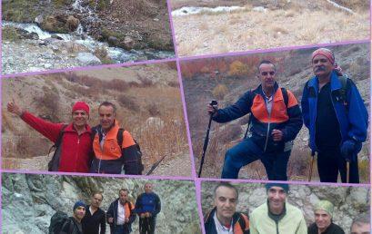 گزارش صعود به قله جانستون