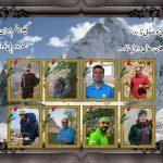 گزارش صعود به قله الوند و کلاغ لان به یاد جانباختگان بهمن اشتران کوه