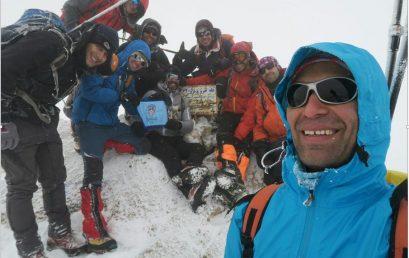 گزارش صعود به قله خرونرو ۱۰ آذر ۹۶