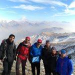 گزارش صعود به قله توچال از یال چهار پالون