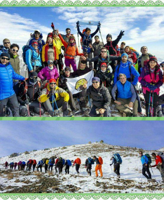 گزارش صعود به قله ساکا