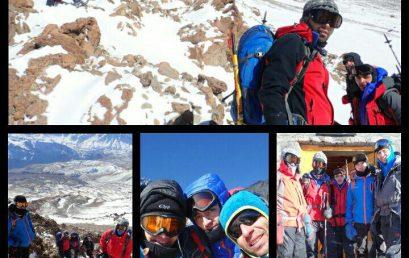 گزارش صعود یکروزه قله دماوند