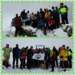 گزارش برنامه صعود به قله های اندار و پرسون