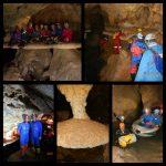 گزارش برنامه پیمایش غار سراب ۱۵ دی ماه ۹۶