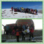 گزارش صعود به قله توچال از یال ایگل