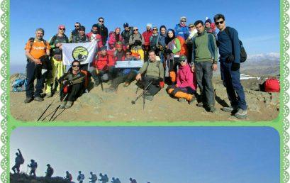 گزارش برنامه صعود به قله عظیمیه