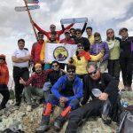گزارش برنامه صعود به قله دو شاخ ( آخرین برنامه سال ۱۳۹۶ )