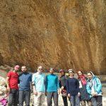 گزارش تمرین غارنوردی در سایت وردیج
