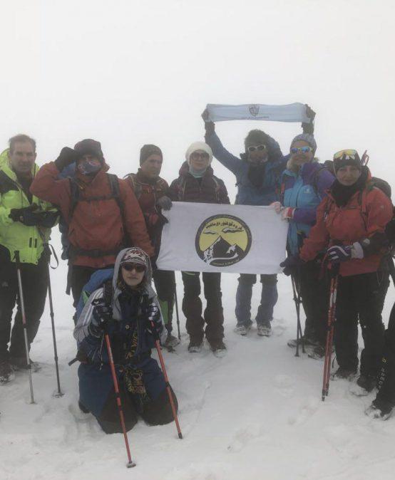 گزارش برنامه صعود به قله شاه نشین