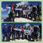 گزارش برنامه صعود به قله شاهو – بام استان کرمانشاه (پروژه سیمرغ)