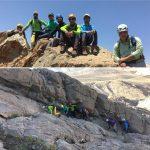 گزارش صعود به قله شاه دژ