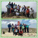 گزارش برنامه صعود به قله های شیرباد و شاه جهان