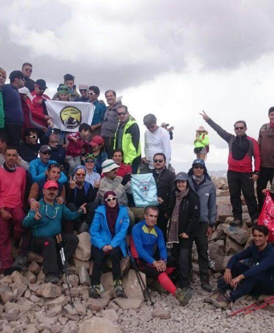 گزارش برنامه صعود به قله های سهند و جام