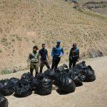 گزارش برنامه پاکسازی دره یورد غربیلک