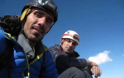 صعود قله علم کوه از مسیر هاری رست نوسط کامران علیزاده و حسین احمدی
