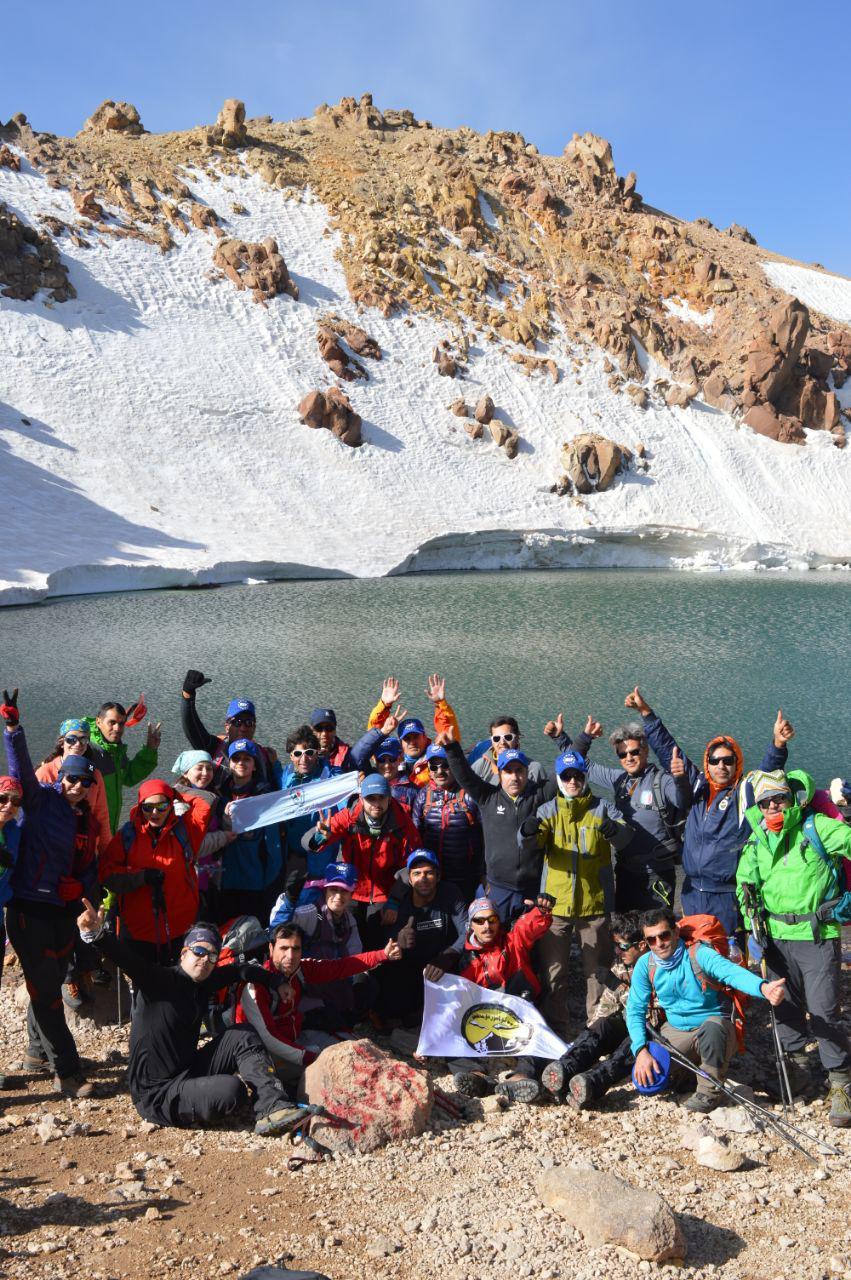 گزارش برنامه صعود به قله سبلان