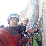 گزارش صعود به قله علم کوه از مسیر گرده و مسیر ۵۲ لهستانیها