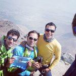 صعود به قله الوند