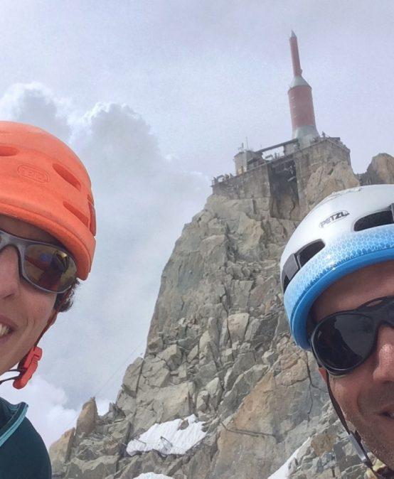 گزارش صعود به دیواره اگویی دومیدی ، قله مونبلان و دیواره گراند ژوراس از مسیر واکر