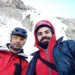 صعود به آشار نوا توسط آقایان مجید نژاد غلامی و سروش نور