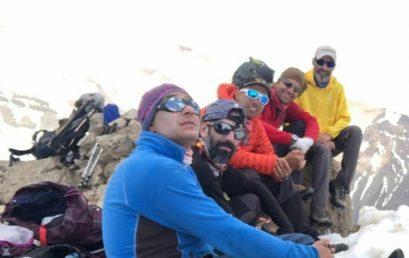 نماهایی از پیمایش قله هزاربند
