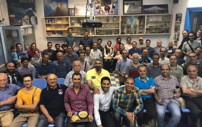 آیین افطار ماه مبارک رمضان باحضور گرم و صمیمی اعضا برگزارشد