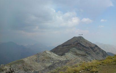 پیمایش قله ریزان با امیرجابرانصاری