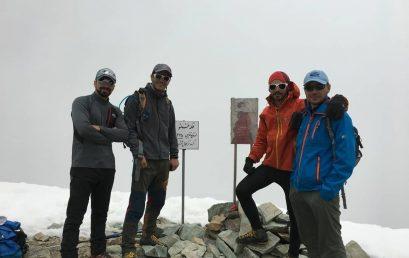 صعود به قله برج و خلنو