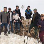 گزارش صعود به قله آبک